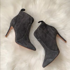 Gray Joie Ankle Booties